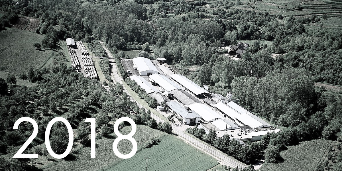 Aerial view of the company Hiller in Kippenheim