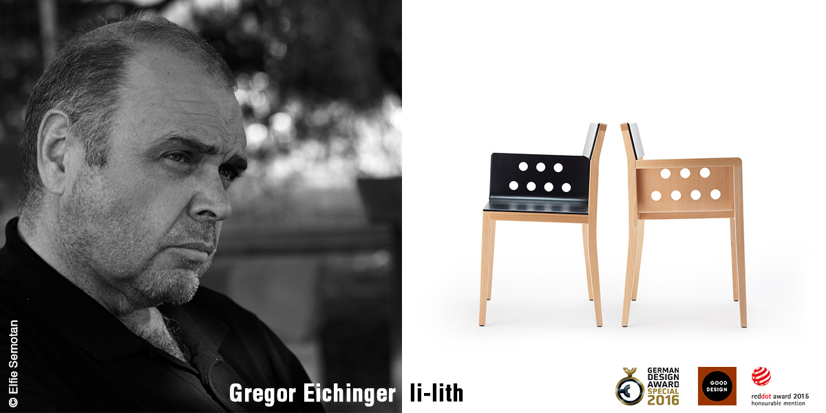 architect Gregor Eichinger | li-lith four-legged chairate to Englisch:] Architekt Gregor Eichinger | li-lith Vierfußstuhl