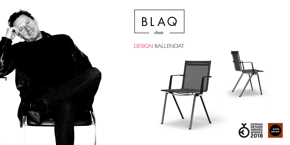 [Translate to Französisch:] Martin Ballendat | BLAQ chair